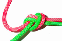 Ropes tied together Royalty Free Stock Photography