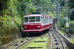 Ropeway για να τοποθετήσει Koya, Ιαπωνία στοκ φωτογραφία