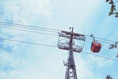 Ropeway гондолы Стоковые Фото