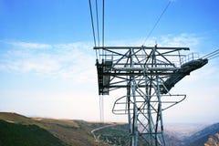 Ropeway in Armenia Stock Images