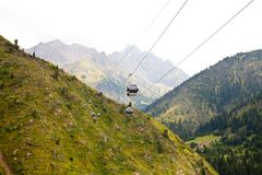Ropeway Royalty Free Stock Photos