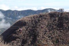 Ropeway de Hakone Photographie stock libre de droits