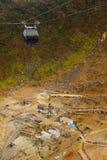 Ropeway di Hakone Fotografia Stock Libera da Diritti