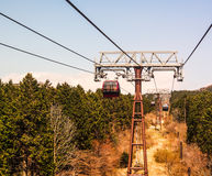 Ropeway in Japan Royalty Free Stock Image