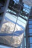 Ropeway moderno FUNITEL no monte Chopok - baixo Tatras, Eslováquia Imagens de Stock Royalty Free