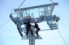 Ropeway mounting Stock Photo