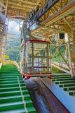 Ropeway na cidade de Atami Imagem de Stock