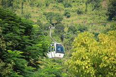 Ropeway In Nepal. Stock Photos