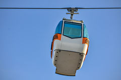Ropeway and sky Royalty Free Stock Photography