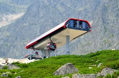 Ropeway. Stock Photography