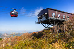 Ropeway to Mount Fuji, Japan Stock Photography