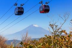 Ropeway to Mount Fuji, Japan Stock Image
