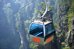 cablecar at zhangjiajie Royalty Free Stock Images