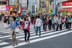 Roppongi area in Tokyo, Japan Royalty Free Stock Photos