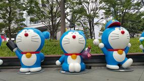 Roppongi Doraemon show Royaltyfri Fotografi