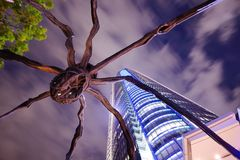 Roppongi Hills Spider Statue Stock Images