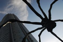 Roppongi Hills spider Stock Photography