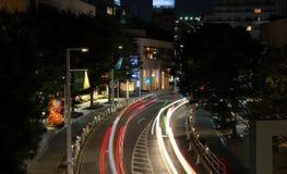 Roppongi la nuit Image libre de droits