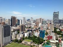 Roppongi, Minato, Tokio obrazy stock