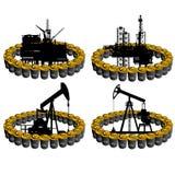 Ropy naftowe business-1 Zdjęcie Royalty Free