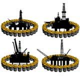 Ropy naftowe business-2 Zdjęcia Stock