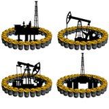 Ropy naftowe business-5 Zdjęcie Stock