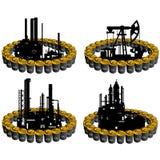 Ropy naftowe business-6 Zdjęcie Stock