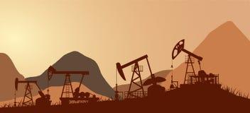 Ropy naftowe, olej, przemysł Obraz Stock