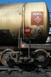 ropy naftowej kolei rosjanina zbiornik Obrazy Royalty Free