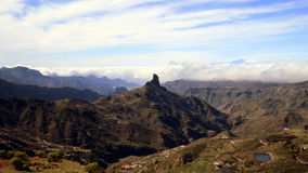 Roque Bentayga, Gran Canaria Royalty Free Stock Photography