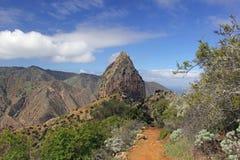 Roque Cano, La Gomera fotografía de archivo libre de regalías