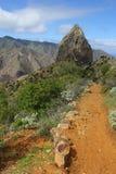 Roque Cano, La Gomera foto de archivo