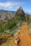 Roque Cano, La Gomera Stock Photo