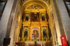 São Roque Church, Lisbon, Portugal Stock Images