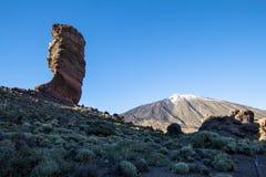 Roque Cinchado in Parque Nacional del Teide, Tenerife Stock Images