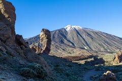 Roque Cinchado in Parque Nacional del Teide, Tenerife Royalty Free Stock Photography