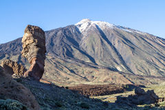 Roque Cinchado in Parque Nacional del Teide, Tenerife. Canary islands, Spain royalty free stock images