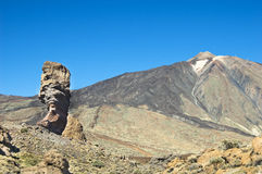 Roque Cinchado, Tenerife, Spain Stock Images