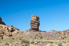 Roque Cinchado in Tenerife, Spain Royalty Free Stock Photos