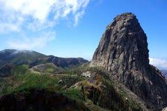 Roque de Agando Stockbild