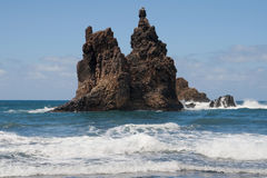 Roque de Benijo Royalty Free Stock Image