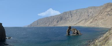 Roque de Bonanza, El Hierro island Royalty Free Stock Image