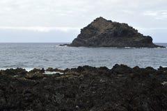 Roque de Garachico, Tenerife foto de stock