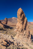 Roque de Garcia, Pico del Teide, Тенерифе, Испания Стоковая Фотография