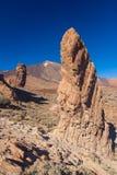 Roque de Garcia, Pico del Teide, Tenerife, España fotografía de archivo