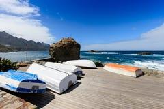 Roque de Las Bodegas Tenerife Royalty Free Stock Images