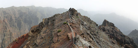 Roque de los Muchachos (La Palma, Canary Islands) Stock Image