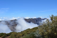 Roque de Los Muchachos. La Palma, Canary islands, Spain Royalty Free Stock Photography