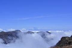 Roque de Los Muchachos. La Palma, Canary islands, Spain Royalty Free Stock Photo