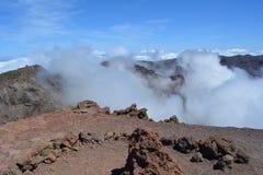 Roque de los muchachos La Palma, Ilhas Canárias, Espanha Imagem de Stock Royalty Free